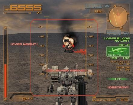 Silent Line: Armored Core  in-game screen image #2