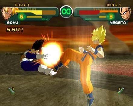 Dragon Ball Z: Budokai  in-game screen image #3