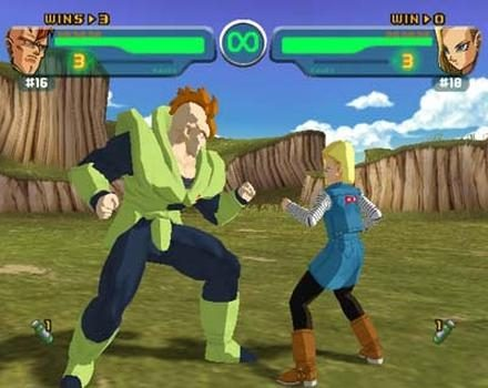 Dragon Ball Z: Budokai  in-game screen image #2