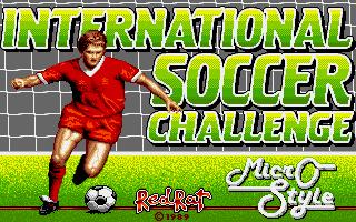 International Soccer Challenge title screen image #1