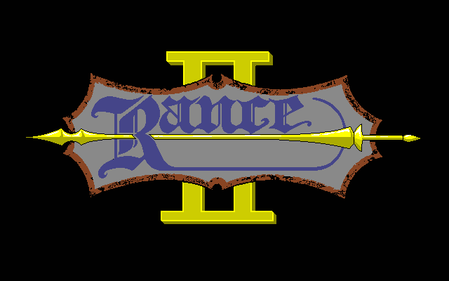 Rance II: Hangyaku no Shōjotachi  title screen image #1