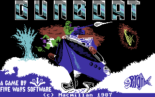 Gunboat title screen image #1