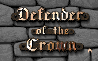 Defender of the Crown title screen image #1