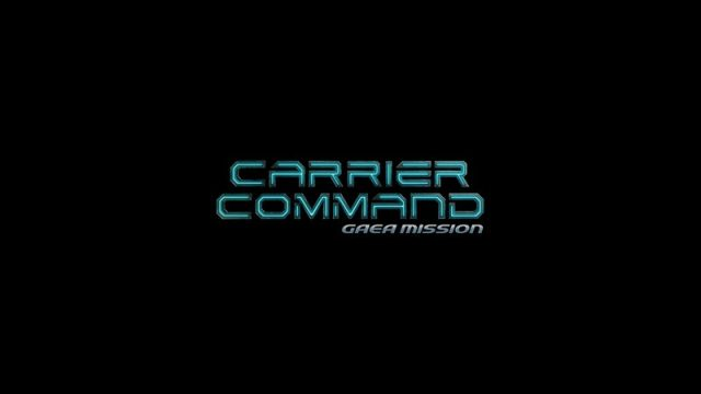 Carrier Command: Gaea Mission  title screen image #1