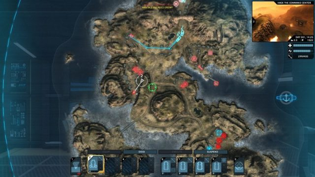 Carrier Command: Gaea Mission  in-game screen image #1