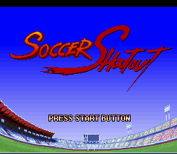 Soccer Shootout  title screen image #1