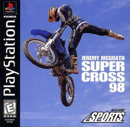 Jeremy McGrath Supercross '98  package image #2