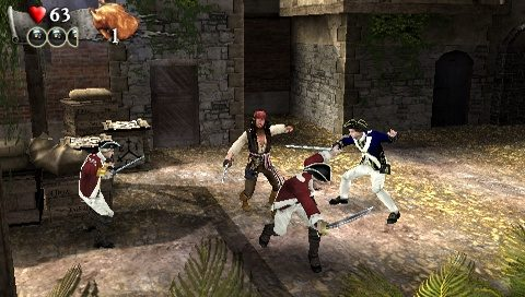 Pirates of the Caribbean: At World's End in-game screen image #2