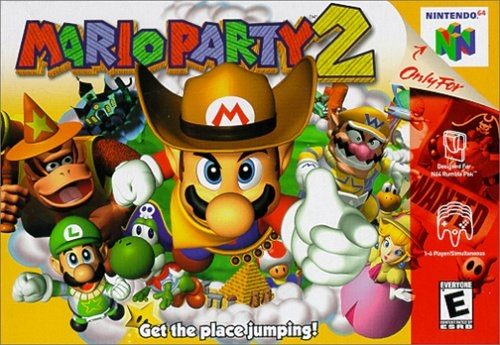 Mario Party 2 package image #1