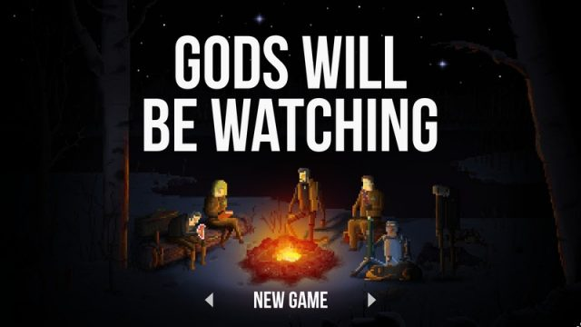 Gods Will Be Watching title screen image #1
