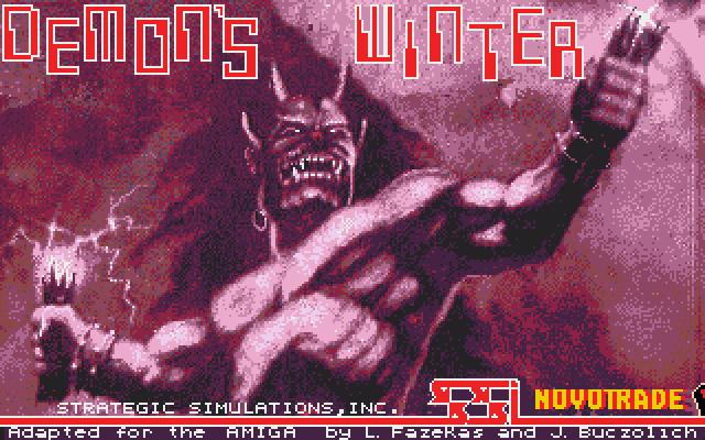Demon's Winter title screen image #1