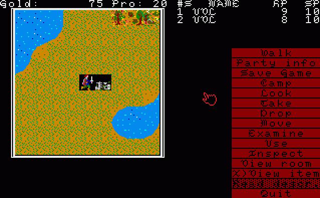 Demon's Winter in-game screen image #2