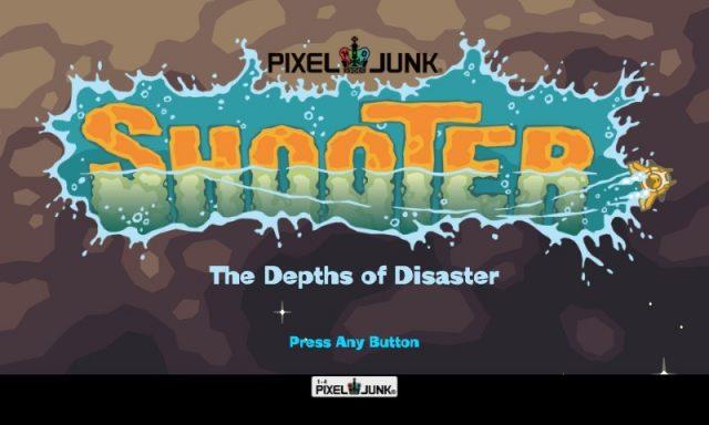 PixelJunk Shooter title screen image #2