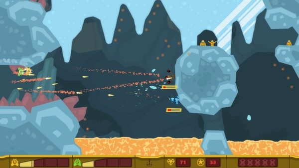 PixelJunk Shooter in-game screen image #2