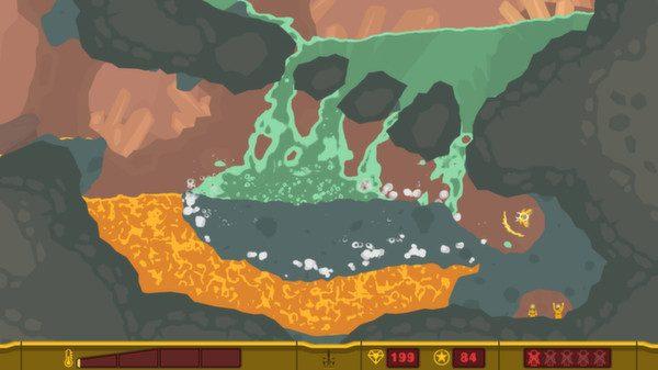 PixelJunk Shooter in-game screen image #1