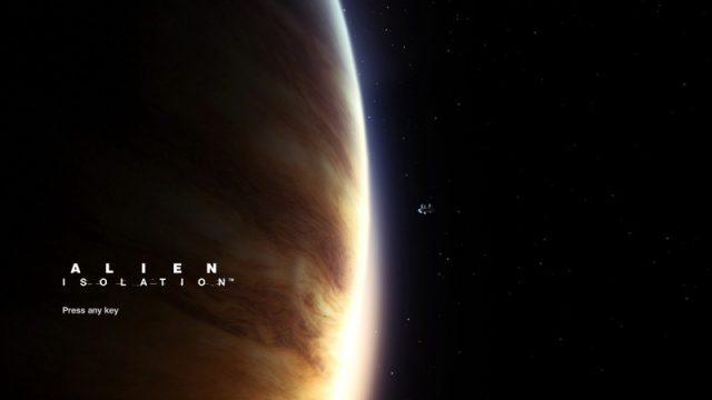 Alien: Isolation title screen image #2 Main menu