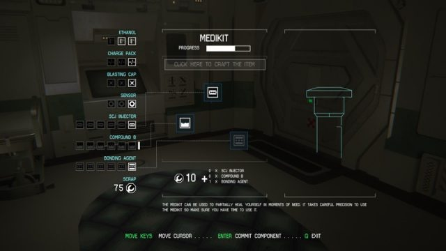 Alien: Isolation in-game screen image #5