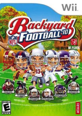 Backyard Football '10 (2009) by Humongous Wii game