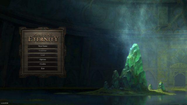 Pillars of Eternity  title screen image #1