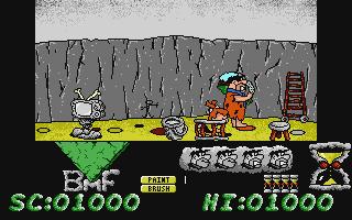 The Flintstones in-game screen image #2
