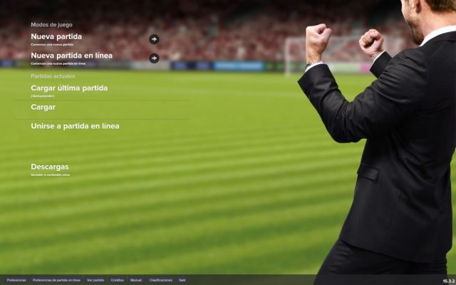 Football Manager 2015 title screen image #1