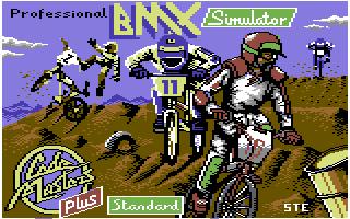 Professional BMX Simulator  title screen image #1