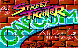 Street Fighter title screen image #1