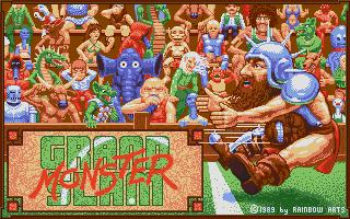 Grand Monster Slam title screen image #1