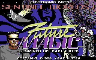 Sentinel Worlds I: Future Magic title screen image #1