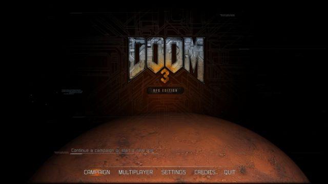 Doom 3: BFG Edition title screen image #1