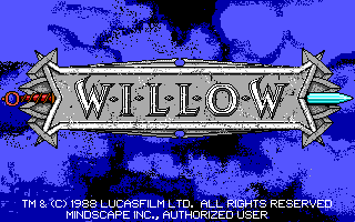 Willow: The Computer Game title screen image #1
