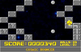 Cosmic Bouncer in-game screen image #1