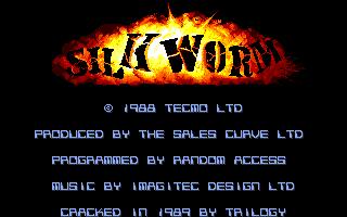 Silkworm  title screen image #1
