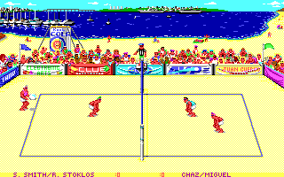 Kings of the Beach in-game screen image #2