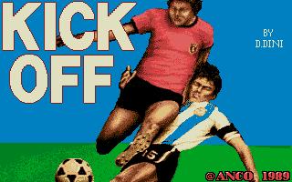 Kick Off title screen image #1