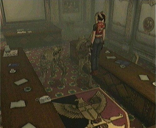 Resident Evil CODE: Veronica  in-game screen image #1