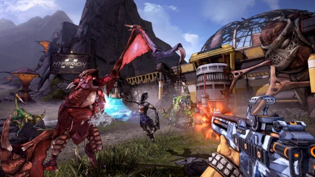 Borderlands 2 in-game screen image #1