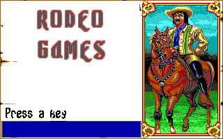 Buffalo Bill's Wild West Show  title screen image #1
