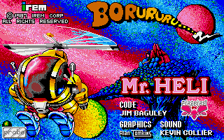 Mr. Heli title screen image #1