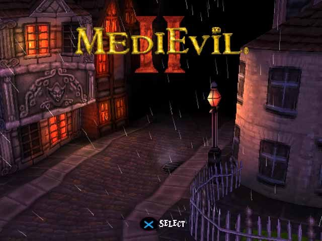 MediEvil 2  title screen image #1