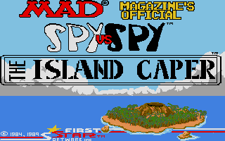Spy vs. Spy 2: The Island Caper title screen image #1