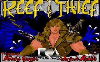Keef the Thief: A Boy and his Lockpick title screen image #1