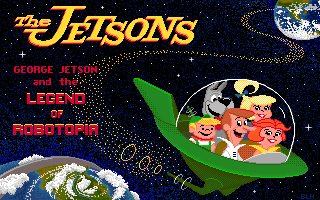 The Jetsons: George Jetson and the Legend of Robotopia title screen image #1
