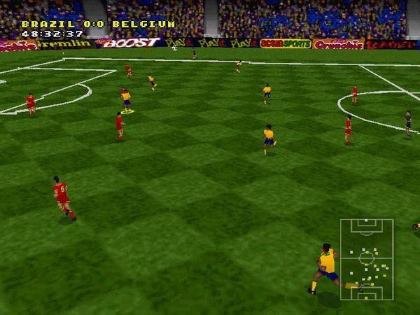 Actua Soccer  in-game screen image #1