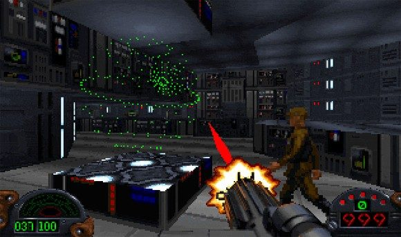 Star Wars: Dark Forces  in-game screen image #3