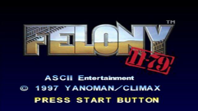 Felony 11-79  title screen image #1