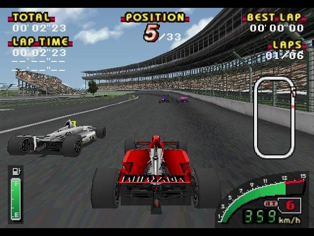 Indy 500  in-game screen image #1