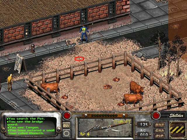Fallout 2  in-game screen image #1