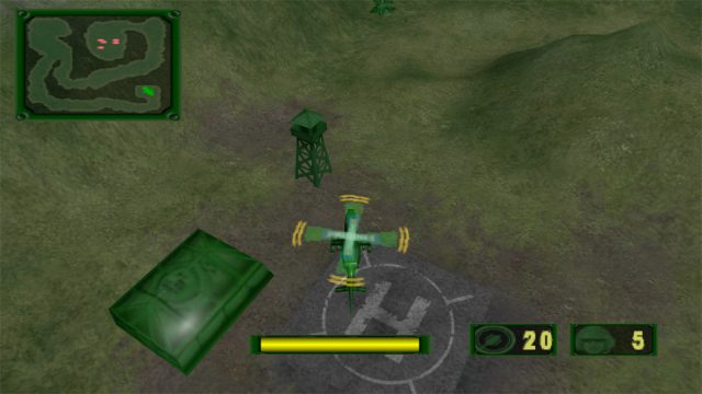 Army Men: Air Combat - The Elite Missions in-game screen image #1