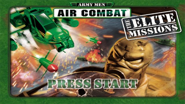 Army Men: Air Combat - The Elite Missions title screen image #1
